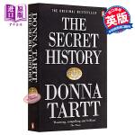 【中商原版】校园秘史 英文原版 The Secret History 唐娜塔 畅销书籍 斯蒂芬金推荐 推理悬疑惊悚侦探