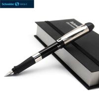 德国进口施耐德(Schneider)钢笔 智者ID系列(F尖+吸墨器+墨胆+笔盒)铱金钢笔礼盒套装钢笔书写铱金笔正姿钢