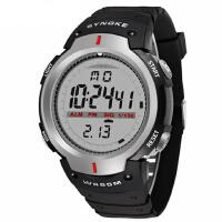 征伐 运动手表 户外运动电子表男士防水大屏幕多功能手表跑步登山手表