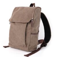 双肩包男包包帆布书包新款背包女中学生包韩版男士旅行包