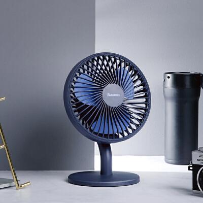 【自动变频 循环送风】Baseus倍思  桌面低噪冷风扇 办公室卧室小风扇静音可调节 日本空气循环原理