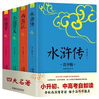 四大名著 生僻字注音+注释+注解 插图青少版 9-15岁孩子更易读懂 三国演义 红楼梦 水浒传 西游记