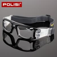 户外足球护目镜 可配近视男士运动眼镜篮球眼镜