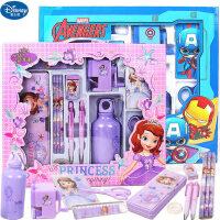 迪士尼文具保温杯套装儿童节生日礼物小学生文具礼品儿童文具礼盒