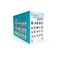 Famous Five Collection 英国童书经典系列作品《五伙伴历险记》21本套装ISBN978144490
