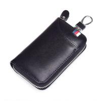 皮汽车钥匙包男士大容量多功能腰挂创意时尚拉链锁匙扣包女