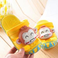 儿童拖鞋 男童女童室内软底防滑凉拖鞋夏季小女孩公主包头护趾防滑拖鞋