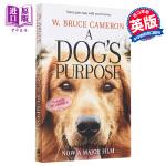 【中商原版】一条狗的使命 新版为了与你相遇 英文原版 电影小说 畅销书籍 同名电影即将感人上映A Dog's Purp