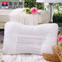 【限时直降】无门槛】富安娜枕芯枕头枕芯 单人枕香蒲麦饭石枕7*45CM