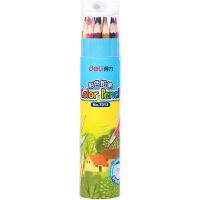 得力(deli) 7013 彩色铅笔(18支/桶)颜色随机 当当自营