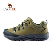骆驼户外登山鞋男女 秋冬情侣款防滑耐磨牛皮徒步鞋