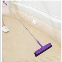 20191221022820592家用浴室地面刮水器 地刮擦瓷砖玻璃刮 橡胶推水刮刮地板扫把拖把 颜色随机