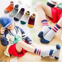 秋学生儿童中筒袜子松口卡通纯棉宝宝袜中小童袜2-5-6-10岁袜子