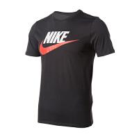 (8.23-25日 满100减30 满279减100)Nike耐克 男装 2018新款运动休闲圆领透气短袖T恤 696708-060
