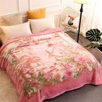 君别毛毯/毯子珊瑚绒毯子冬季双层加厚法兰绒毛毯垫床单午睡单人沙发午休小被子 200cmx230cm 约9斤