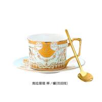 英式金边咖啡杯套装陶瓷家用欧式英式下午茶茶具红茶杯骨瓷小