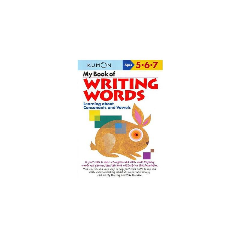 【预订】My Book of Writing Words:: Learning about Consonants and Vowels 预订商品,需要1-3个月发货,非质量问题不接受退换货。