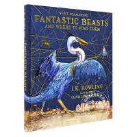 现货 神奇动物在哪里 插图插画版 英文原版 Fantastic Beasts and Where to Find The