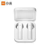 小米真无线蓝牙耳机Air2 SE双耳运动适用于华为苹果官方半入耳 白色
