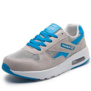 新款网面气垫鞋女鞋韩版运动休闲鞋女旅游鞋透气轻便跑步女单鞋
