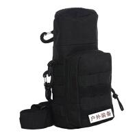 迷彩水壶包杯套包防水户外旅行登山手机包水杯包袋骑行单肩斜挎包