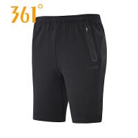 【折上1件5折 2件4折】361°正品361度新款夏季男短裤简约轻薄透气修身运动休闲短裤551824724