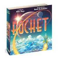 英文原版 火箭轨道书 Rocket: A Journey Through the Pages Book 进口玩具