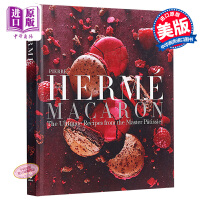 Pierre Herme的马卡龙 英文原版 Pierre Herme Macaron:The Ultimate Recipes from the Master Patissier 法国美食甜点烹饪烘焙