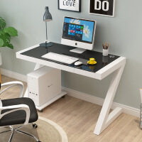 游戏电脑桌简约现代台式家用办公桌 简易学习书桌写字台