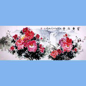 中国青年美术家协会常务理事,国家一级美术师,中国山水画院专业画家,山东省美协会员高云鹏(富贵满堂)