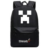 我的世界游戏周边苦力怕末影人双肩背包书包男女学生 高45厘米*宽31厘米*厚18