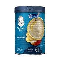 嘉宝香蕉苹果营养米粉250g(较大婴儿和幼儿,6个月起)