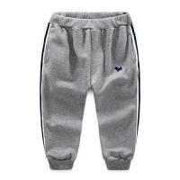 男童运动裤 2018春新款儿童运动裤 中大童男童运动长裤子