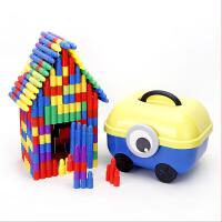 子弹头积木塑料拼插拼装益智男女孩宝宝儿童玩具1-2-3-6周岁