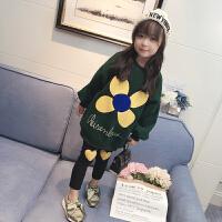 童装女童加绒卫衣2017新款韩版外套宝宝长袖衣服儿童装打底衫潮