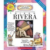 【中商原版】学乐我需要知道的伟大艺术家系列 迭戈里维拉 英文原版 Diego Rivera 画家知识
