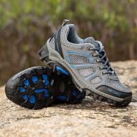 户外徒步鞋登山鞋男情侣运动鞋透气防滑女鞋