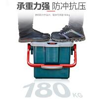 爱丽思IRIS 零食储物箱车载收纳箱工具整理箱汽车用品后备现场箱