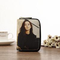 新款2018新款卡包女式大容量韩国迷你简约定制小钱包