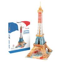 3D立体建筑创意拼图 创意版埃菲尔巴黎铁塔伦敦大本钟