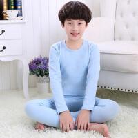 纯棉男童12岁大红秋衣秋裤中大童青少年保暖本命年内衣套装
