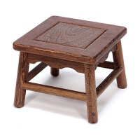 中式仿古实木小凳子板凳家具鸡翅木小方凳矮凳餐凳椅子换鞋凳