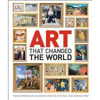 【中商原版】改变了世界的艺术 英文原版 DK-Art That Changed the World