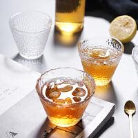 光一网红玻璃酒杯子创意茶花水杯家用套装客厅啤酒杯ins风女北欧茶杯