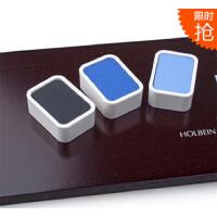 日本荷尔拜因HB新颜彩 固体国画颜料 水彩 精致木盒套装 14色N351