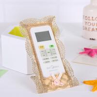 欧式布艺遥控器保护套蕾丝刺绣防尘罩电视空调机顶盒遥控套