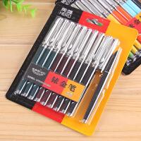 英雄钢笔007铱金笔经典老式钢笔学生写练字专用钢笔