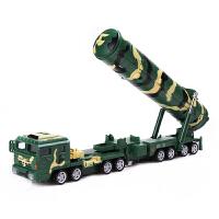 军事模型东风31A洲际弹道导弹发射车儿童玩具汽车