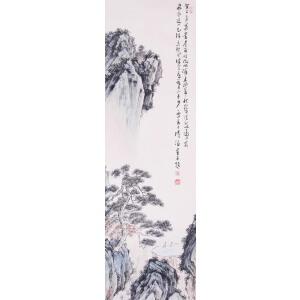 著名画家   溥儒《山间幽居图》