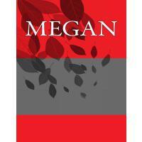 【预订】Megan: Personalized Journals - Write in Books - Blank B